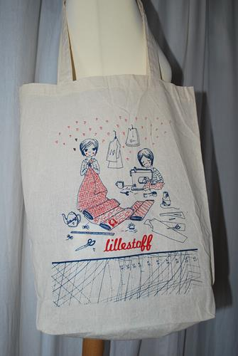 Tote bag Lillestoff oko tex